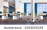 creative office coworking... | Shutterstock .eps vector #1243242235
