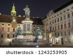 beautiful night view of kaiser... | Shutterstock . vector #1243253905