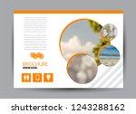 flyer  brochure  billboard... | Shutterstock .eps vector #1243288162