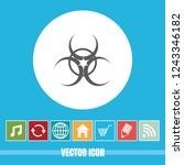very useful vector icon of bio... | Shutterstock .eps vector #1243346182