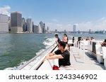 new york city  usa   june 24 ... | Shutterstock . vector #1243346902