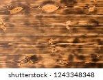 natural wooden background.... | Shutterstock . vector #1243348348