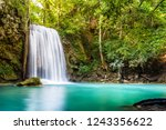Waterfall And Blue Emerald...