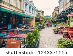 tbilisi  georgia   november...   Shutterstock . vector #1243371115