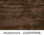 wood texture  vector eps10... | Shutterstock .eps vector #1243434448