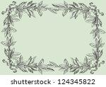 retro background. vector ... | Shutterstock .eps vector #124345822