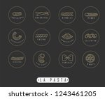 vector icon and logo for... | Shutterstock .eps vector #1243461205