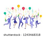 card winter holidays corporate...   Shutterstock .eps vector #1243468318