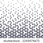 abstract seamless geometric... | Shutterstock .eps vector #1243474672
