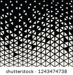 abstract seamless geometric... | Shutterstock .eps vector #1243474738