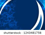usa color flag concept... | Shutterstock .eps vector #1243481758