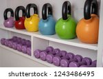 Multi Colored Weights In The...