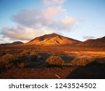 lanzarote  driving from... | Shutterstock . vector #1243524502