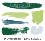 paint lines grunge collection.... | Shutterstock .eps vector #1243526332