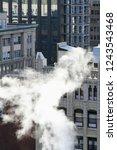 overhead view of new york city... | Shutterstock . vector #1243543468