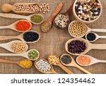 Various Grain  Beans  Legumes ...
