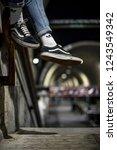 milan  italy   november 24 ... | Shutterstock . vector #1243549342