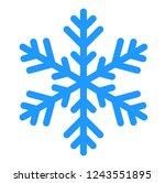 illustration christmas symbol ... | Shutterstock . vector #1243551895