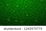 Background Of Small Hearts Wit...