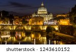 Rome At Night   A Panoramic...