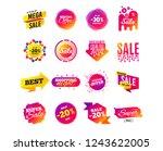 sale banner templates design.... | Shutterstock .eps vector #1243622005