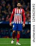 diego costa of atletico madrid... | Shutterstock . vector #1243625692