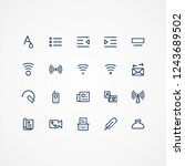 20 icon line for website and ui ...