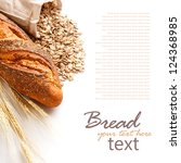 Bread From Rye And Wheat Flour...