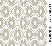 abstract seamless ornamental... | Shutterstock .eps vector #1243725955