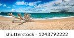 scenic view of nha trang beach ... | Shutterstock . vector #1243792222