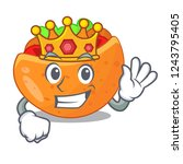 king pita bread filled with...   Shutterstock .eps vector #1243795405