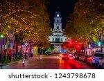main street and texas street... | Shutterstock . vector #1243798678