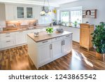 nice coutry style kitchen | Shutterstock . vector #1243865542
