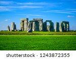 Landscape View Of Stonehenge  ...