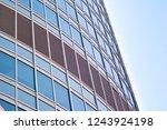 exterior of a modern office... | Shutterstock . vector #1243924198