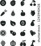 solid black vector icon set  ... | Shutterstock .eps vector #1243940428