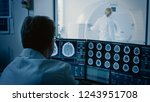 in medical laboratory patient...   Shutterstock . vector #1243951708