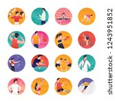 in this eye catching colorful...   Shutterstock .eps vector #1243951852