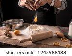 bucharest  romania november 23  ... | Shutterstock . vector #1243988188