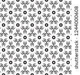 decorative vector seamless... | Shutterstock .eps vector #1244000608