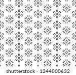 decorative vector seamless... | Shutterstock .eps vector #1244000632