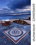 monemvasia  laconia ... | Shutterstock . vector #1244056645