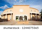 state capitol in santa fe  new... | Shutterstock . vector #1244075365