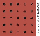 sale icon. sale vector icons... | Shutterstock .eps vector #1244076082
