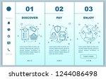 online shopping onboarding... | Shutterstock .eps vector #1244086498