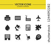 build icons set with windmill ...