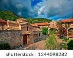 aitoloakarnania  greece ... | Shutterstock . vector #1244098282