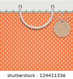 vector illustration of shopping ... | Shutterstock .eps vector #124411336