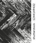 distressed overlay wooden... | Shutterstock .eps vector #1244149432