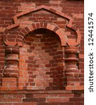 old brick wall with arch | Shutterstock . vector #12441574